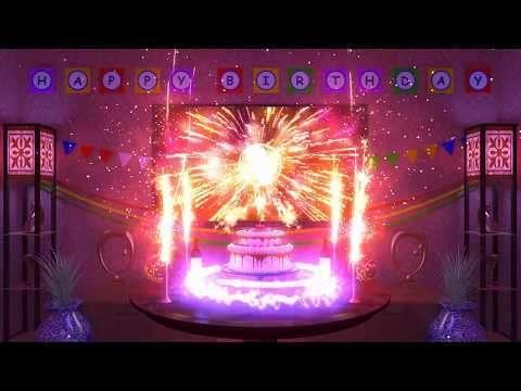 Magical animated happy birthday | love status video