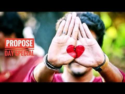 Proposal status | Very Cute Boy And Girl Love | dialogue status video