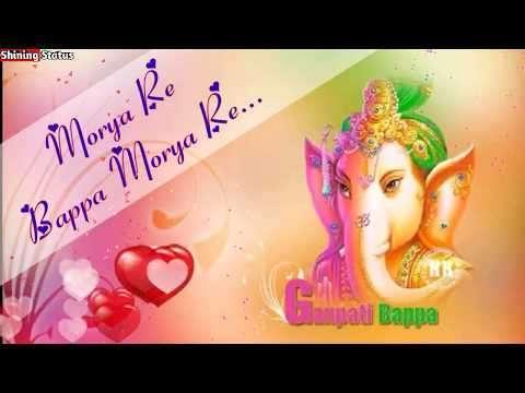 Ganpati Bappa Morya | Ganesh Chturthi Special | WhatsApp Status