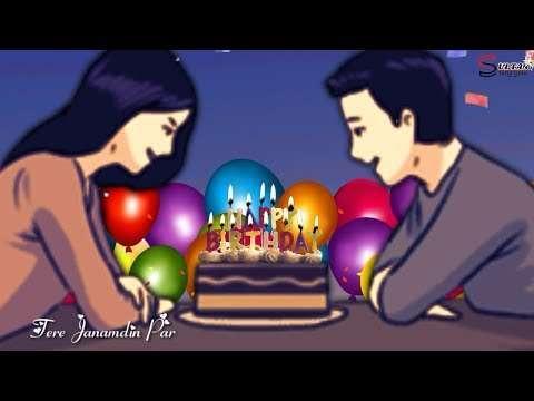 Happy birthday status for girlfriend | brithday video