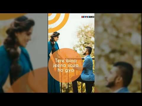 Tere Bina Full Screen Whatsapp Status