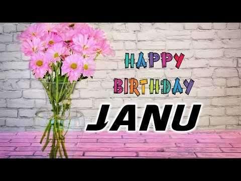 Happy birthday janu to lover | lover birthday wish video status | cute birthday whtsapp status