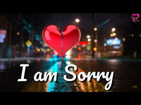 Sorry to girl friend | sorry status video